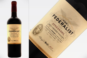 THE FEDERALIST VISIONARY ZINFANDEL 2015
