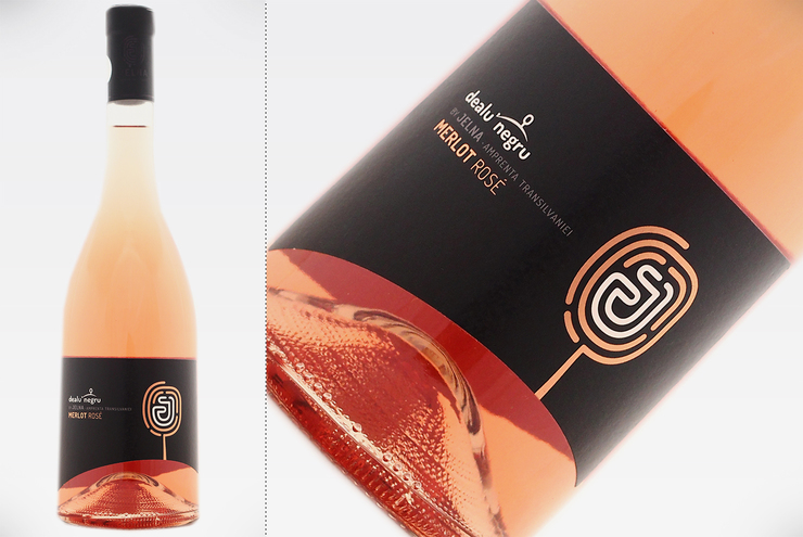 DEALU' NEGRU BY JELNA - MERLOT ROSE 2018