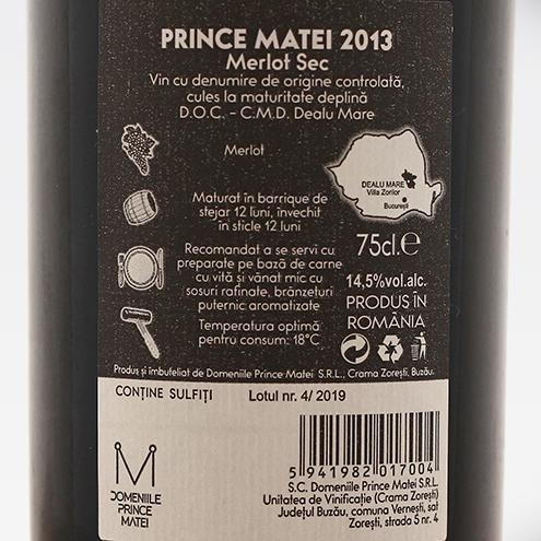 PRINCE MATEI 2013- detaliu