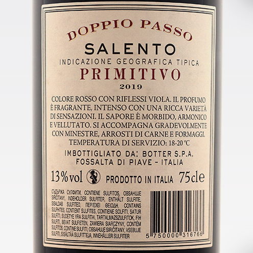 DOPPIO PASSO PRIMITIVO 2019