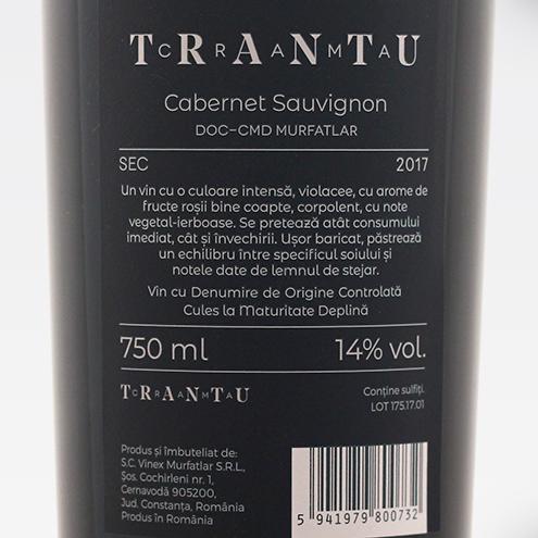 TRANTU CABERNET SAUVIGNON 2017