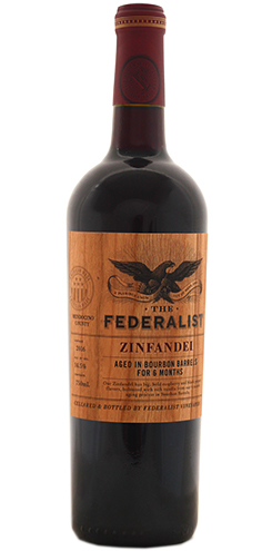 THE FEDERALIST ZINFANDEL BOURBON BARREL AGED 2016 - Federalist Vineyards