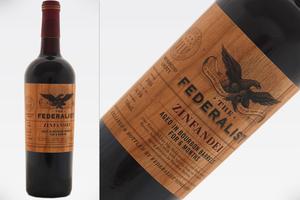 THE FEDERALIST ZINFANDEL BOURBON BARREL AGED 2016 Federalist Vineyards
