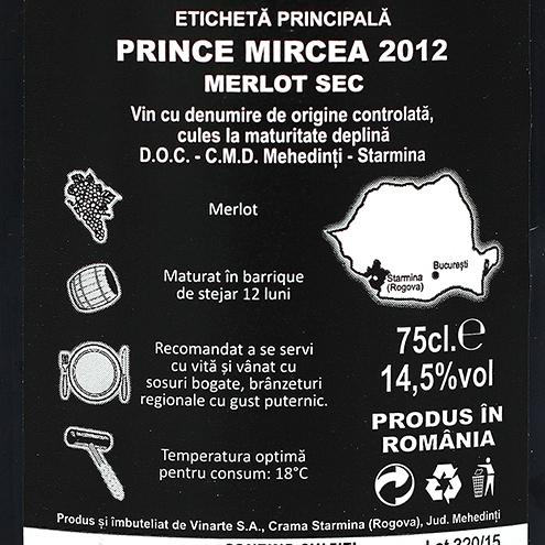 PRINCE MIRCEA 2012