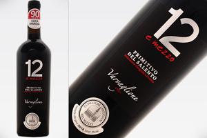 12 E MEZZO - PRIMITIVO DEL SALENTO 2016